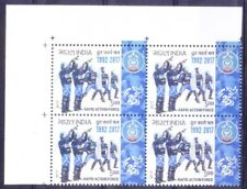 India 2017 MNH LU Corner Blk, Rapid Action Force, Police