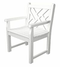 Polywood Chippendale Garden Chair - White