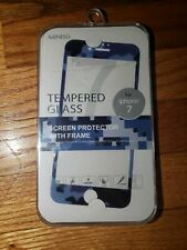 Tempered Glass Screen Protector With Frame Iphone 7 8