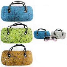 1 Hard Sunglasses Case Eye Glasses Durable Clam Shell Box Protector Holder New
