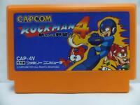 ROCKMAN 4 MEGAMAN CAPCOM NINTENDO FAMICOM FAMILY COMPUTER NES FC JAPAN