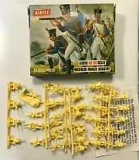 AIRFIX HO - 00 S44 - 69 WATERLOO FRENCH INFANTRY COMPLETO IN BOX SPRUE