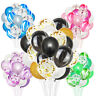 "20pcs Latex Confetti Balloon Marble Helium Wedding Birthday Party Decoration 12"""