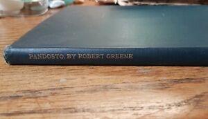 VERY RARE Pandosto, Robert Greene, Original Hand Printed 1902 copy (one of 160)