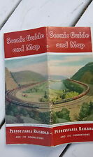 1953 Pennsylvana railroad  Map of United States scenic guide  pictures