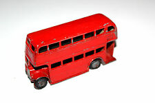 Dinky Toys Red Post War Type 1 Grill Double Decker Bus # 29C R/P !!