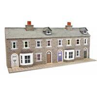 Metcalfe - PN175 - Stone Terraced House Fronts (N Gauge)