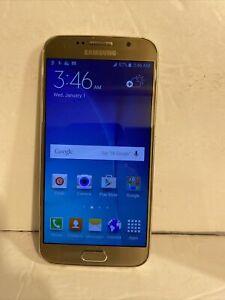 UNLOCKED T-Mobile Samsung Galaxy S6 Gold SM-G920T Smart Phone / Unlocked 32gb