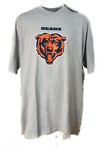 Chicago Bears NFL Apparel Gray Logo T-Shirt Big & Tall 5XLT