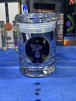 Skunk Glass Stash Jar Apothecary Prescription  Weed