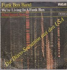 "7"" Funk Box Band We`re Living In A Funk Box 70`s RCA (Soul)"