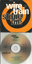 WIRE TRAIN Stoon Me /Open Sky/ 17 Spooks CARD SLEEVE Europe CD single USA seller
