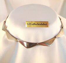 Rar Hans Hansen Dänemark Collier Silber Collierkette 925 Modernist / AM 791