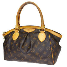 Auth LOUIS VUITTON Tivoli PM Hand Bag Monogram Leather Brown  M40143 89MB652