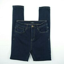 FORCAST DENIM - High Waist Skinny Dark Stretch Denim Jeans Women's Size W24 L28
