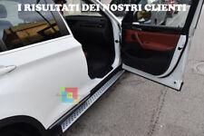 PEDANE LATERALI DESIGN M PER BMW X3 F25 2010+ SOTTOPORTA ANTISCIVOLO M LOOK