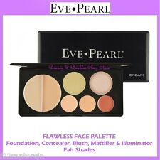 NEW Eve Pearl FLAWLESS FACE PALETTE-Fair Shades FREE SHIPPING Face Makeup Kit