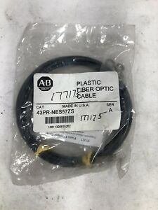 ALLEN BRADLEY PLASTIC FIBER OPTIC CABLE, 43PR-NES57ZS - NEW