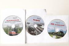 DVD Eisenbahn Journal  3 x DVD   Tour de Ruhr 225    Nordpfeil    E94   (76204)