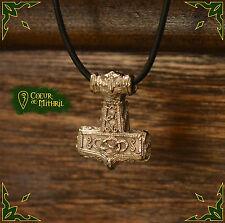 Necklace viking thor hammer pendant /Collier pendentif marteau de thor viking