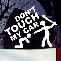 Don't Touch My Car Vinyl Decal Sticker Bumper Window Graphic Stickers Nice #am8