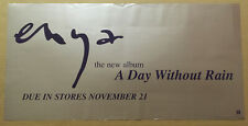 ENYA Rare 2000 PROMO POSTER BANNER w/DATE for Day Without CD 24x12 NEVER DISPLAY