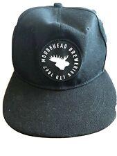 BASEBALL HAT CAP Flat Brim  Karbon Moosehead Breweries Ltd 1867 150 Years BEER