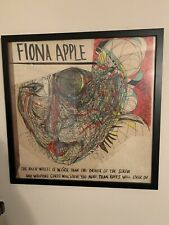 FIONA APPLE THE IDLER WHEEL RECORD STORE PROMO CARDBOARD POSTER EXTREMELY RARE