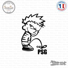 Sticker Calvin Pisse PSG Decal Aufkleber Pegatinas D-475 Couleurs au choix