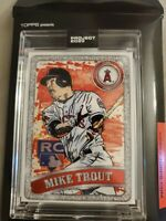 Tops PROJECT 2020 Mike Trout #100 Based off 2011 TOPPS Update US175 Angels