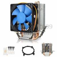 12V Quiet Fan CPU Cooler Heatsink for Intel LGA775/1156/1155 AMD