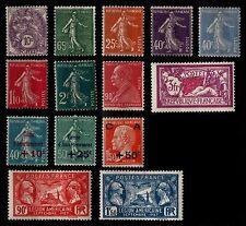 L'ANNÉE 1927 (sauf 241 242), Neufs * = Cote 147 € / Lot Timbres France 233 à 248