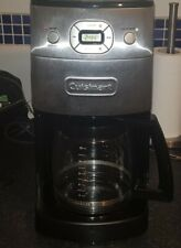 CUISINART COFFEE MACHINE Grind & Brew Bean To Cup With Built In Grinder + Filter