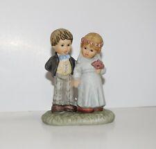 From This Day Forward Berta Hummel 1996 Goebel Figure Wedding Cake Topper (lk)
