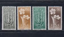 IFNI (1956) SERIE COMPLETA EDIFIL 128/31 SELLOS NUEVOS SIN FIJASELLOS MNH FLORES