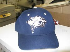 UNIV OF NEW HAMPSHIRE-DK BLUE CAP W/ TEAM LOGO ON FRONT-SIZE 7 1/8