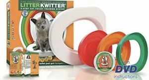 Cat Toilet Training One size fits most toilets No More Litter! New Open Box
