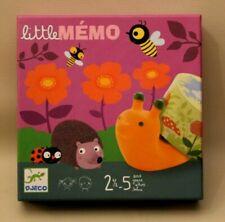 Djeco - Little Mémo - jeu de société figurines pour enfants de 2 à 5 ans