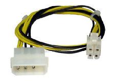 Pc Molex A P4 de 64 bits Atx 12v Volt Power 4 Pin Mujer Cuadrado Adaptador Convertidor