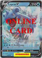 Lapras V Regular Art Sword & Shield Pokémon TCG Online PTCGO ONLINE CARD FAST