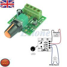 Hot! DC 1.8V 3V 5V 6V 12V 2A Bajo Voltaje Motor Regulador De Velocidad PWM 1803B