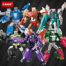 Transformers G1 Headmasters Hardhead Skullcruncher Chromedome Figure