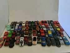 63 Piece Set Assorted Hot Wheels Cars and Other Varieties with Carrying Case