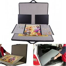 Jigsaw Puzzle Case Table Storage up to 1500 Pieces Carry Safe Tray Organizer