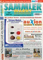 SAMMLER MARKT International - Magazin Heft Flohmarkt Auktionen 07/2010 - B15064