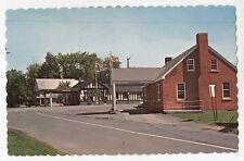 U.S. & Canadian Customs BEEBE Vermont & BEEBE Estrie Quebec Canada Postcard