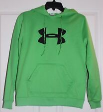 Under Armour Child Unisex Lime  Green Hoodie size SM