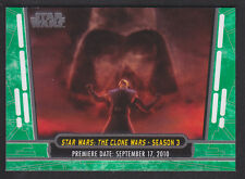 Topps Star Wars - 40th Anniversary - Green Parallel Card # 12