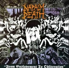 "Napalm Death ""From Enslavement To Obliteration"" CD"
