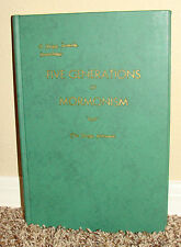 Five Generations of Mormonism Grigg Family Genealogy 1956 1STED LDS Mormon Rare
